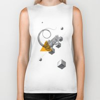 psychology Biker Tanks featuring Archetypes Series: Elusiveness by Attitude Creative