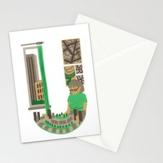 U as Urbaniste (Town planner) Stationery Cards