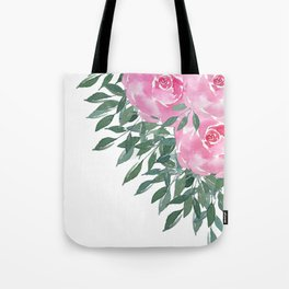 Watercolor floral n.2 Tote Bag
