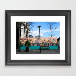 Colorful Place to Sit Framed Art Print
