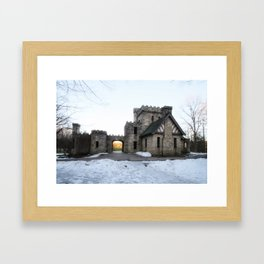 The forotten castle Framed Art Print