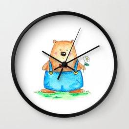 Ben the Bear Wall Clock