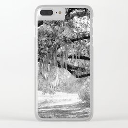 New Orleans Oak Tree Clear iPhone Case