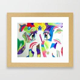 Compoze the Eyez Framed Art Print