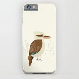 Laughing Kookaburra, Bird of Australia iPhone Case