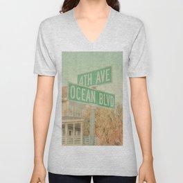 Ocean Boulevard Unisex V-Neck