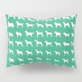 All Dogs (Mint) Pillow Sham