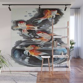 Flying Fish Wall Mural
