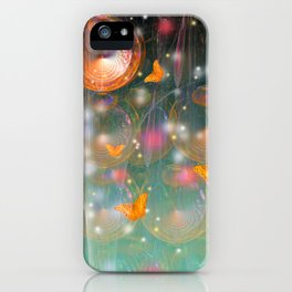 Entrance to the faerie worlds iPhone Case
