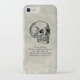 Shakespeare - Hamlet - What Dreams May Come iPhone Case