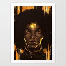 Look into the Sun 2.0 Art Print