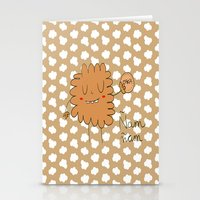 cookie Stationery Cards featuring Cookie by EnelBosqueEncantado