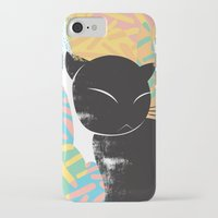 memphis iPhone & iPod Cases featuring Memphis Cat by kelsosullivan