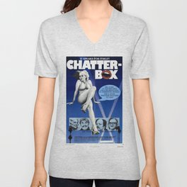Chatter-Box Unisex V-Neck
