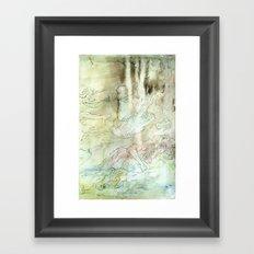 Seek (part three of three) Framed Art Print