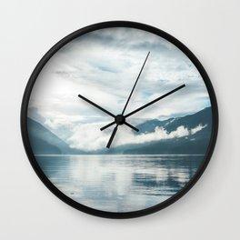 Lake in the Sky III Wall Clock