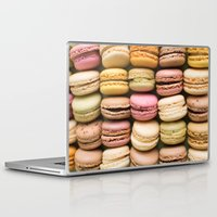 macaron Laptop & iPad Skins featuring Macarons I by SouvenirPhotography
