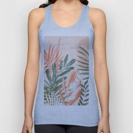 Tropical Leaves 4 Unisex Tank Top