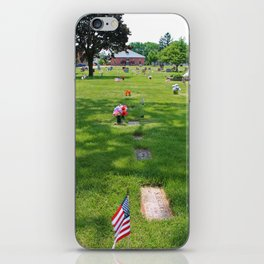 Final Resting Place iPhone Skin
