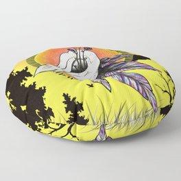 Beautiful Decay.  Floor Pillow