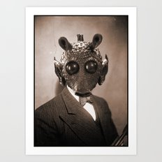 Portrait of Sir Greedo Art Print