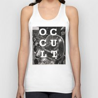 occult Tank Tops featuring Occult by Mario Zoots