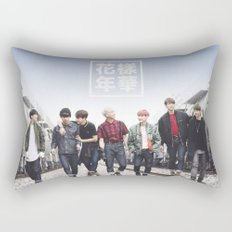 BTS + I need u Rectangular Pillow
