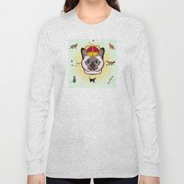 THE CAT KING Kitty Cat Long Sleeve T-shirt