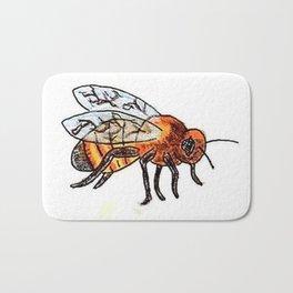 Honey Bee keeper Bath Mat