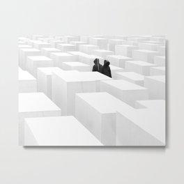 don't reflection Metal Print