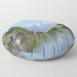 Jade Dragon Snow Mountain, Yunnan, China Floor Pillow