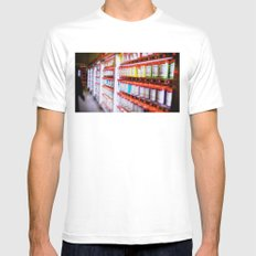 Pantone Pods MEDIUM Mens Fitted Tee White