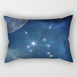 Zodiac sings Sagittarius Rectangular Pillow
