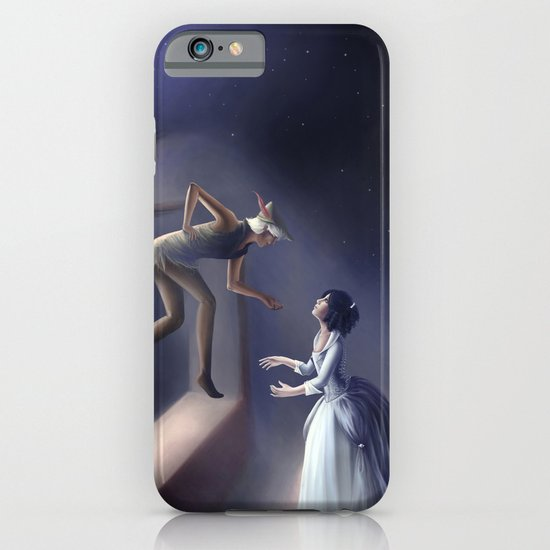 Peter Pan & Wendy iPhone & iPod Case