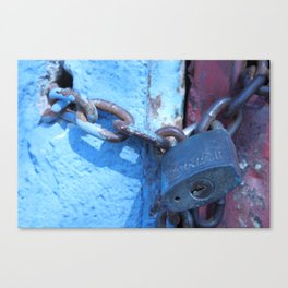 Lockdown  Canvas Print