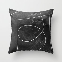 Minimal 9 Throw Pillow
