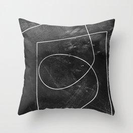 Minimal 9 Throw Pillow