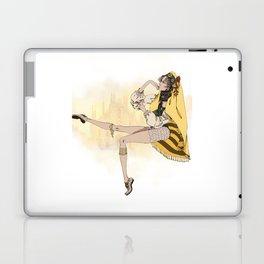Yellow Milan Laptop & iPad Skin