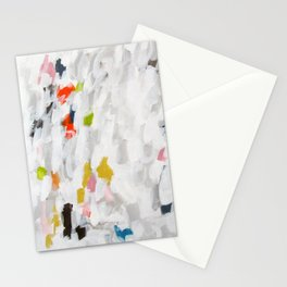 No. 71 Modern Abstract Painting Stationery Cards