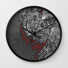 Earth Dance Wall Clock