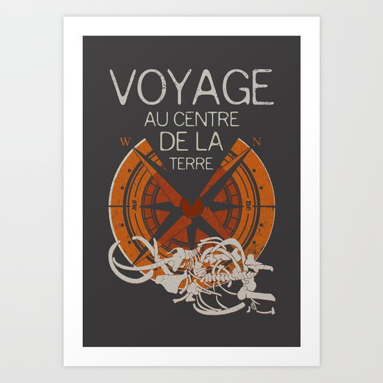 Books Collection: Jules Verne Art Print