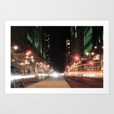Seconds In The City Art Print