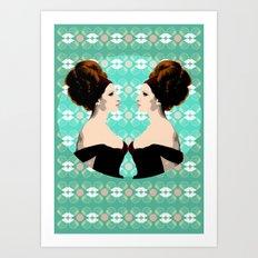 Pop Queens -  Barbra Streisand (Cecil Beaton) Art Print