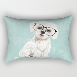 Mr Maltese Rectangular Pillow