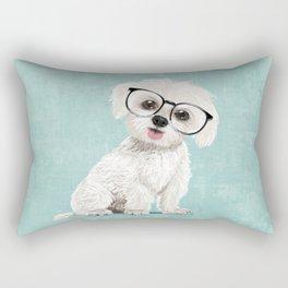 Mr Maltese Rectangular Pillow