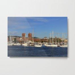 Oslo VII Metal Print