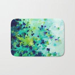 Aquamarine Addiction Bath Mat