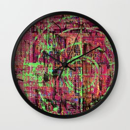But What About King Lear? ... and His Jets? [Recombinant Series] Wall Clock