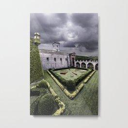 Montjuïc Castle Metal Print