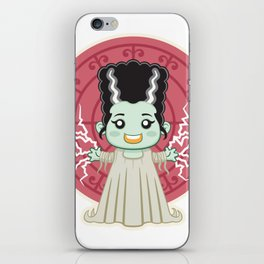 Frankenstein Bride Kid iPhone Skin